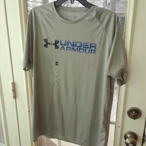 Under Armour NEW NET Heat Gear Shirt sz L Large